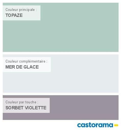 Chambre Adulte Colorée by Castorama Nuancier Peinture Mon Harmonie Peinture Topaze