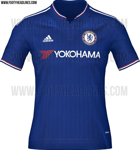 Chelsea Home Jersey 2015 2016 leaked chelsea home away shirts 2015 2016