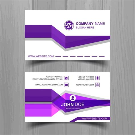 http www freepik free vector coffee business card template 1105489 htm business card with purple stripes vector free