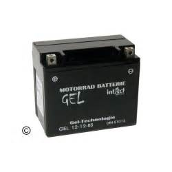 Motorradbatterie Ytx12 Bs by Gel Batterie Gel12 12 Bs 51012 Ytx12 Bs