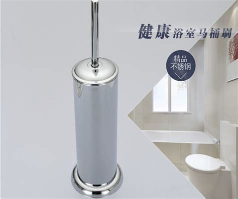 Bathroom Accessories On Sale Factory Direct Sale Durable Type 304 Stainless Steel Chrome Finished Toilet Brush Holder Set