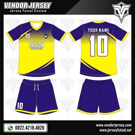desain kaos futsal warna kuning desain kaos futsal gratis jika pesan di vendor jersey