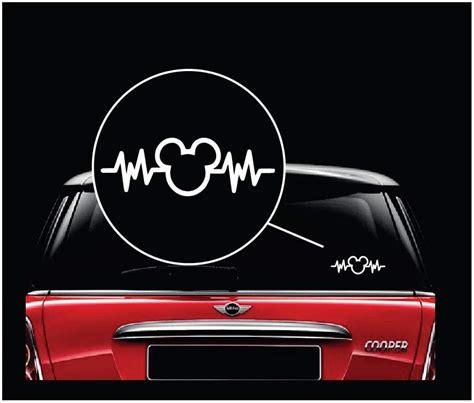 Window Decals Disney by Mickey Mouse Disney Heartbeat Window Decal Sticker A2