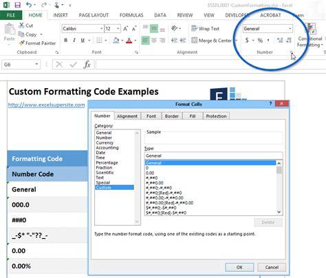 excel 2007 custom number format exles cracking the mystery of custom number formats in excel
