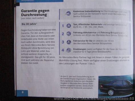 Audi Garantie Durchrostung by Garantie Gegen Durchrostung Willoklaus 55
