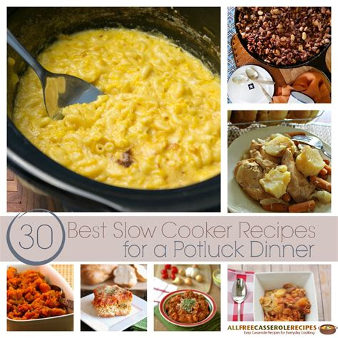 30 best crock pot recipes 30 best cooker recipes for a potluck dinner