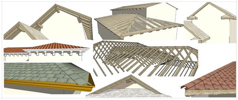 Framing Hip Roof Instant Roof Nui Sketchup Extension Warehouse