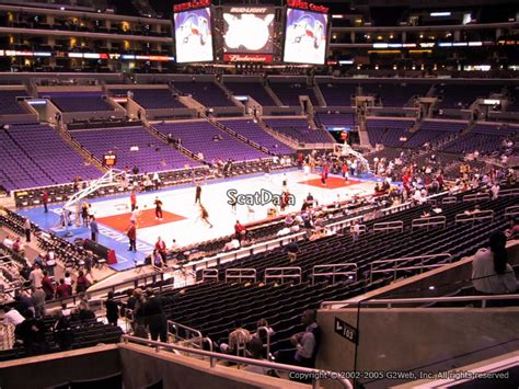 section pr7 staples center premier corner staples center basketball seating