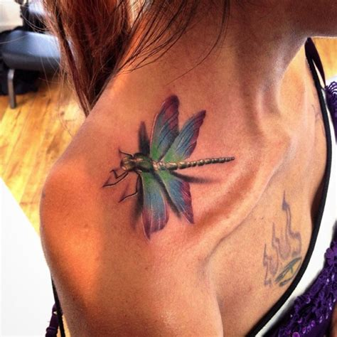 dragonfly rose tattoo 65 dragonfly ideas meanings a trendy symbolism