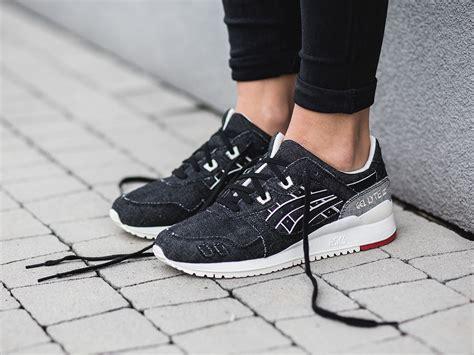 womens shoes sneakers asics gel lyte iii okayama denim