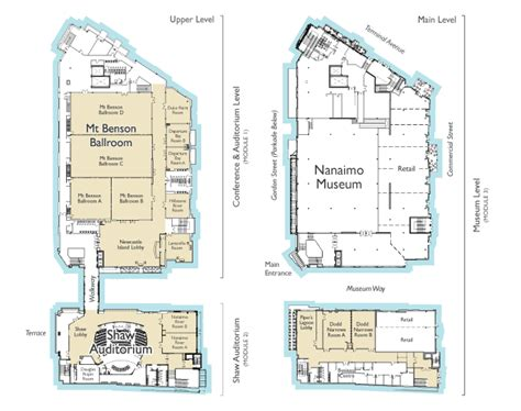 Floor Plans For The Vancouver Island Conference Centre Floor Plans Vancouver House