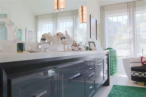 gray lacquered vanity contemporary bathroom ciuffo
