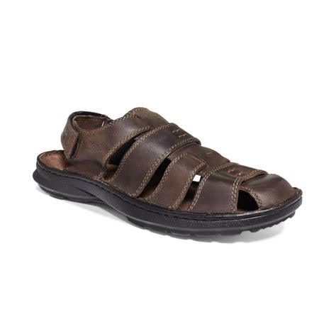 brown sandals for clarks swing sky sandals in brown for lyst