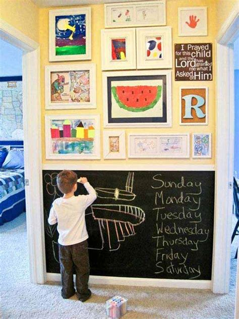 blackboard for room 36 exciting ideas to decorate rooms with colored