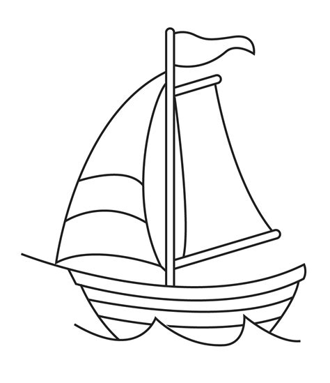 sailboat lines sailboat line drawings clipart best