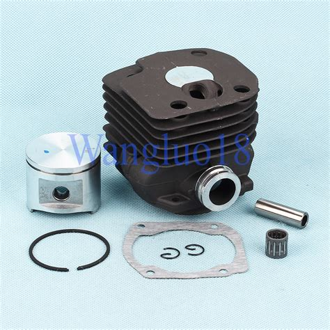 Piston Kit 52mm Pin 13 52mm cylinder piston pin gasket kit for husqvarna 362 365 371 372 372xp chainsaw ebay