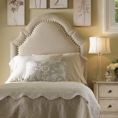 twin size upholstered headboards buy twilight bay hathaway panel headboard size king