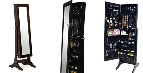 Jewely Armoire Free Shipping Floor Standing Jewelry Armoire Jane