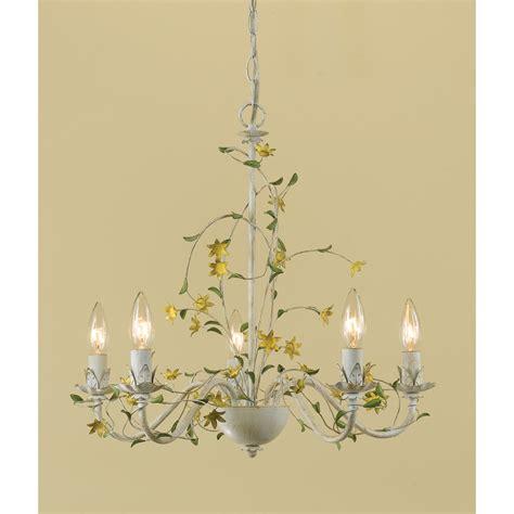 Flower Chandelier Af Lighting Flower 5 Light Chandelier Reviews Wayfair