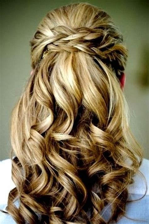 long hairstyles down dos half up wedding 2015 and beauty on pinterest