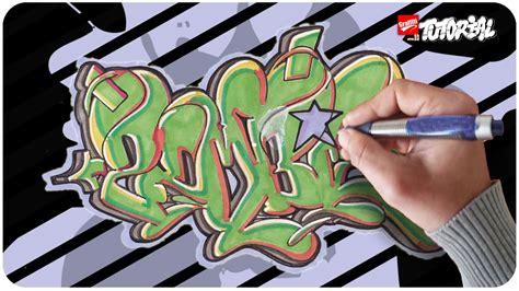 zombie zeichnen tutorial graffiti zeichnen zombie bubble style youtube