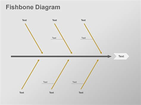 fishbone diagram editable powerpoint template