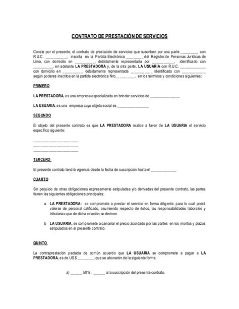 contrato de prestacion de servicios profesionales no contrato de prestaci 243 n de servicios espec 237 fico