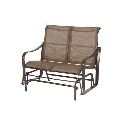 backyard glider upc 722938079407 martha stewart living chairs grand bank