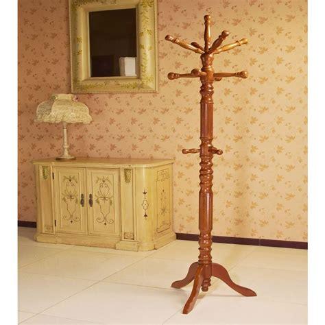 Twist Coatrack Single Material Elegance by Frenchi Home Furnishing Oak 12 Hook Coat Rack Jw302 O