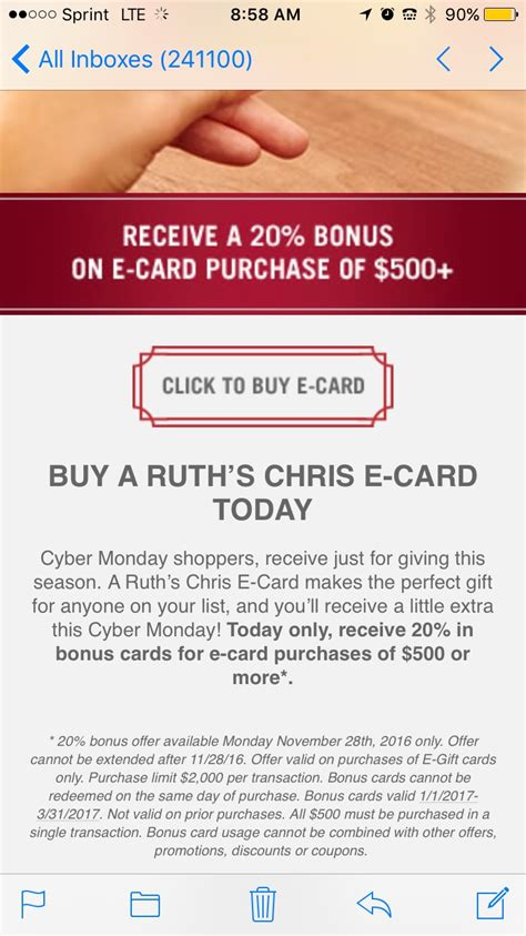 Ruth Chris Steakhouse Gift Card - 30 off ruth s chris steak house coupon code 2017 promo code dealspotr
