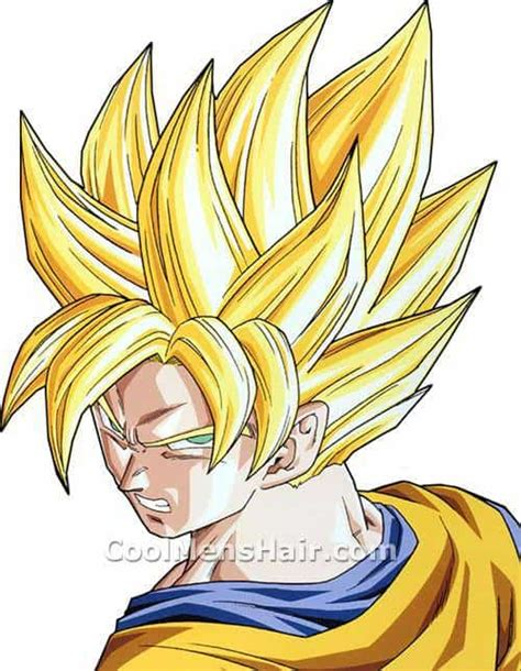 Goku Hairstyle by Goku Liberty Spikes Hair Style In Z Cool