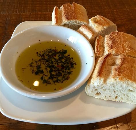 california pizza kitchen grapevine complimentary bread and with spices for dipping yelp