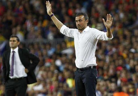 barcelona sextuple luis enrique pique red card ended barcelona s sextuple