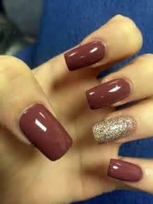 fall color acrylic nails best 25 burgundy acrylic nails ideas on