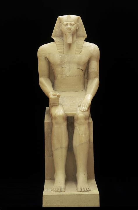information on egyptain hairstlyes for men and women colossal statue of king menkaura mycerinus museum of