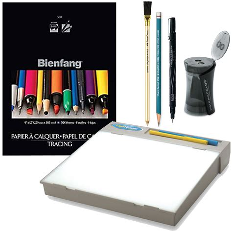 light tracer light box speedball bienfang tracing and sketching kit w artograph