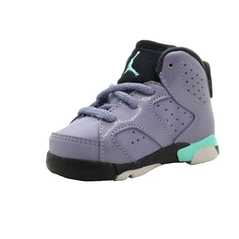 baby size 3 shoes nike air 6 vi retro td toddler 645127 508 iron