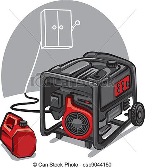 free graphic generator vector clipart of power generator power generator