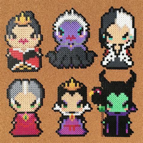 perler fusion disney villains perler by tsubasa yamashita disney