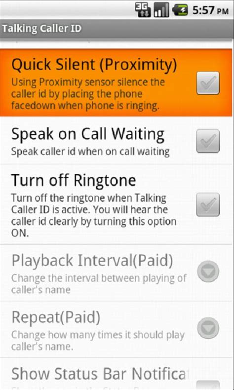 talking caller id apk talking caller id 5 39 0 apk productivity apps