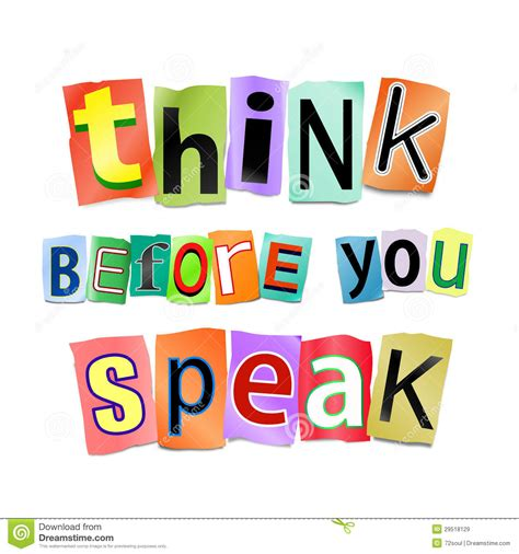 Don T Forget Do A Before You Eat Fb think before you speak www imgkid the image kid