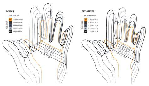 glove pattern grading glove printable size chart celtek com pdf hand warmers