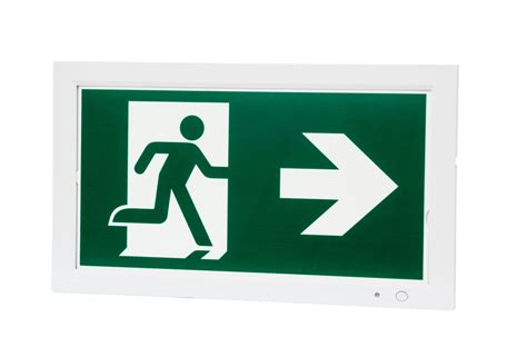 Hanelle Exit led exit sign telesto emergency lighting