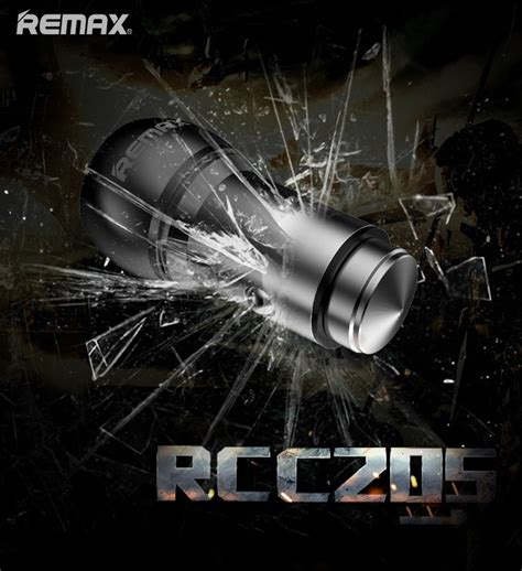 Remax Car Charger 2 4 A Rcc 205 remax rcc 205 bullet dual usb car charger w 2 4a