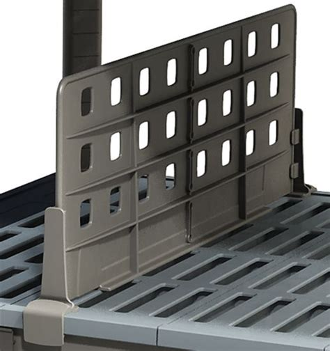 polymer shelving metromax iq storage system