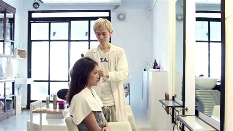 boy are taken to beauty salon for girly hair and makeup boy hair salon youtube