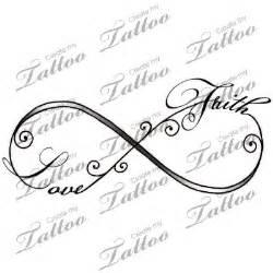 Faith Infinity Symbol 25 Best Ideas About Faith Tattoos On
