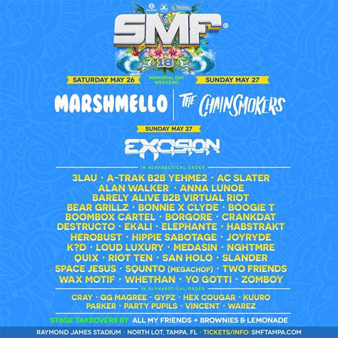 san holo nashville tickets sunset music festival reveals fully loaded lineup for 2018