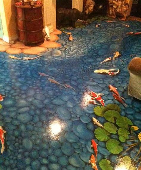 jessie sibert art gallery   abstract floor mural   art