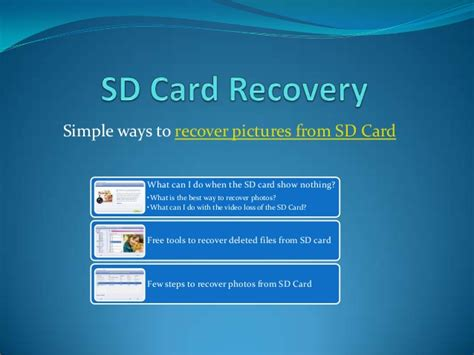 sd card recovery for android sd card recovery for the digital camcorder android phones